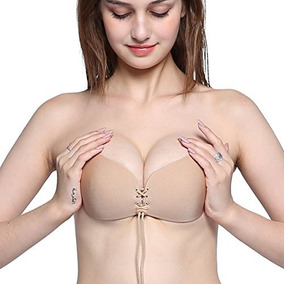Bra Nubra Brasier Strapless Push Ups Invisible Sin Tirante