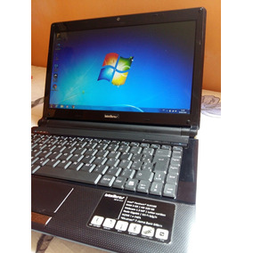 Notebook Intelbras I818 Slim 320gb 4gb Hdmi Bateria Viciada