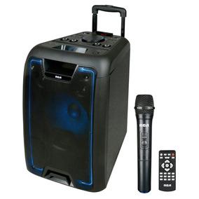 Parlante Bluetooth Karaoke Sp-1002bt Rca