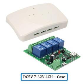 Sonoff 4ch Canais Rele Wifi Automação Residencial + Case
