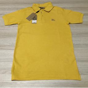 Camisa Polo Fhs M Vermelho - Pólos Manga Curta Masculinas Ocre em ... 85fb3a61ba68c