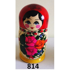 Bonecas Russas Matrioska 814 8 Peças 21-23cm Mamuska