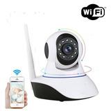 Camara Ip Wifi Hd Con Movimiento Nocturna Sonido Domo 360