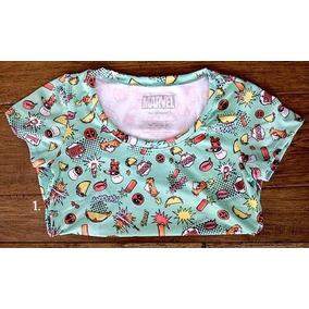 Her Universe Deadpool Hi-lo Top Loot Crate Blusa Camiseta