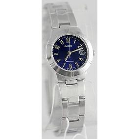 6bcfc6203d9f Reloj Casio Analogico Ltp 1241 Calendario Mujer Original - Relojes ...