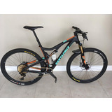 Bike Tallboy Santa Cruz Carbon Cc - Tam L Eagle Dourado