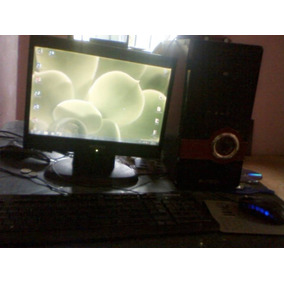 Pc Ddr2 500gb Hdd Dual Core 3.2 Ghz Monitor 15 Mouse Teclad