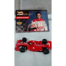 Hot Wheels Custom Christian Fittipaldi Indycar Cart F1 Loose