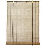 Natural De Bambú Matchstick Roll Up Ventana Ciega De 60 Pul