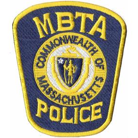 Patch Bordado - Policia Porto Baia Massachusetts Pl60051