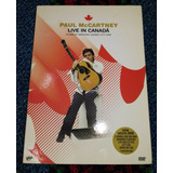 Dvd - Paul Mccartney - Live In Canada 2008 - Ind Arg.