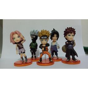 Bonecos Action Figures Naruto Shippuden® / 6 Pcs