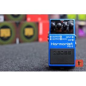 Pedal P/ Guitarra Boss Ps6 Harmonist + 4 Efeitos De Pitch