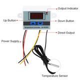Termostato 220v Digital Temperatura Incubadora Refrigeradora