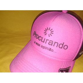 Bone Feminino Personalizado - Bonés Rosa no Mercado Livre Brasil a2b501f5b4f