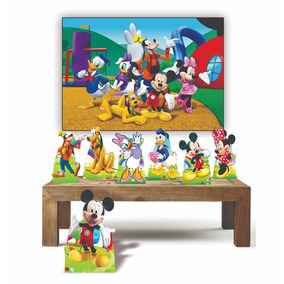 Kit Festa A Turma Do Mickey + Painel