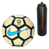 e73840715b Kit Bola Futebol Cbf Society Nike + Squeeze Automático
