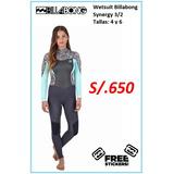 Wetsuit Billabong Mujer en Mercado Libre Perú da7beb4c1