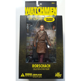 Dc Direct Watchmen Rorschach Action Figure Variante
