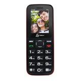 Celular Lenoxx Cx905 Dual Chip Rádio Fm - Preto E Vermelho