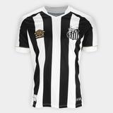 Camiseta Oficial Do Santos 2018 Masculina Todos Uniformes bc118e9bda6bd