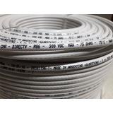 Cable Coaxil Rg6 Blanco Rollo X 152mts Original Dtv.
