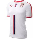 Camisa Sérvia 2018 - Camisa Masculina de Seleções de Futebol no ... 5783a79eaec50