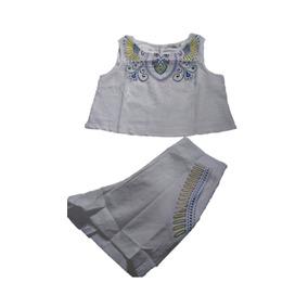 Vestido Feminina Camuflado Laço Camisão Jardineira Conjunto