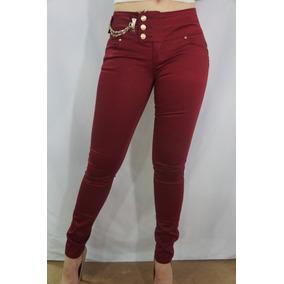 Pantalón De Gabardina Dama Levanta Pompis Clash Jeans Lp8226