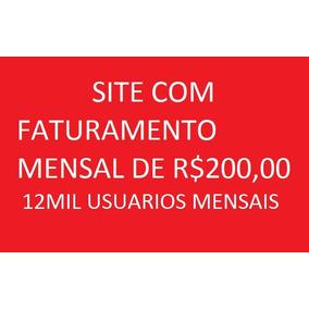 Vendo Site De Currículo Com Faturamento Mensal De R$200,00