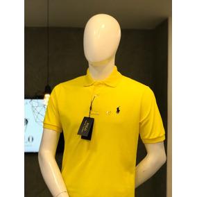 d309086bf7 Camisa Tipo Polo Ralph Lauren Color Amarillo Pálido - Ropa y ...