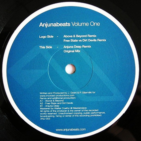 Trance Anjunabeats - Volume One ( Sin Tapa)