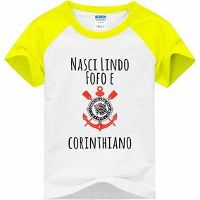 69bc0abd549fa Camiseta Corinthians Infantil Gaviao - Camisetas e Blusas no Mercado ...