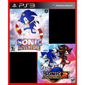 Sonic Adventure 1 E Sonic Adventure 2 Ps3 Psn Midia Digital