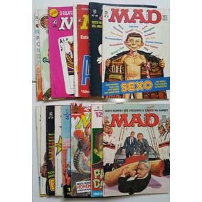 Super Lote Revista Mad Editora Record Década 80 E Especiais