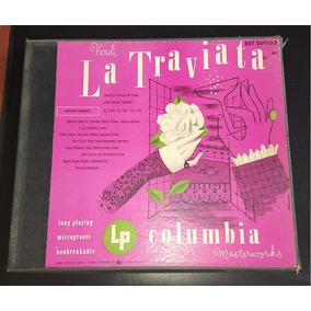 Caixa Vinil 3 Lps - La Traviata Verdi Columbia - 1949 Raro