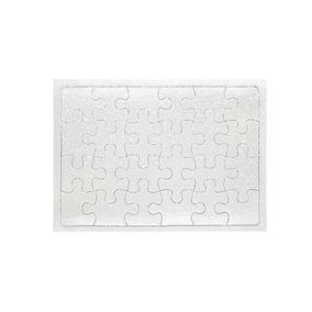 10 Quebra Cabeças Sublimático Com Glitter 24peças 19x27cm A4