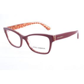 f7a32990eb4bb Oculos De Grau Feminino Vermelho Dolce Gabbana - Óculos no Mercado ...
