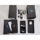 Nuevo Samsung Galaxy S9 Plus - Medianoche Negro / Doradoa