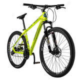 Bicicleta Hombre Hendel Bike R29 Altus 24v Verde/azul Cuadro