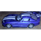 Carro De Coleccion Escala 1:18 Dodge Viper Gts