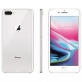 0c1e7813c Iphone 8 Plus 64gb Prata Tela 5.5 Ios 4g Wi-fi Anatel Novo