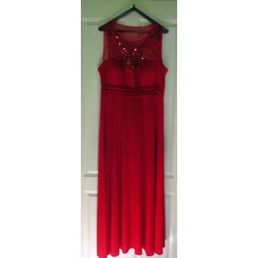 be38489c6 Vestido Madrina Corto - Vestidos de Mujer Rojo en Mercado Libre ...