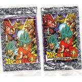 1200 Cards Dragon Ball = 300 Pacotes Fechados