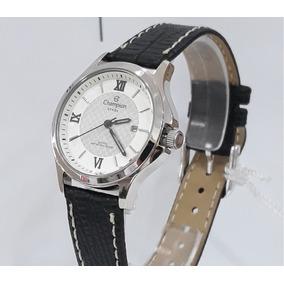 51ad157c0c6 Relógio De Pulso Feminino Pulseira Preta Couro Champion - Relógios ...