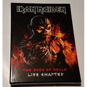Iron Maiden The Book Of Souls Live Chapter 2cd+book Pronta E