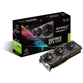 Asus Geforce Gtx 1080 8gb Rog Strix 4k - Vr Ready - R$ 4.380
