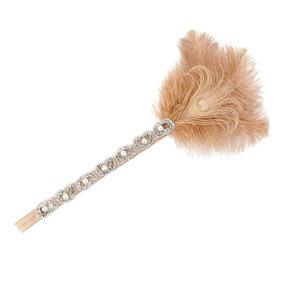 Pluma Borla Beads Aleta Venda 1920 Charleston Celada Champá · Dama Gatsby  20s Aleta Pluma Venda Fascinador Boda Nupcial Ce c85a6736bb7