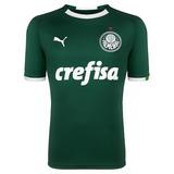 Camisa Do Palmeiras Verde Limao Crefisa no Mercado Livre Brasil cbcb841cde7a8