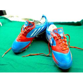 outlet store 8b703 51bf8 Zapato Futbol adidas F10 Trx Fg Blue